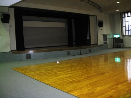Mary hall 1F, Miyada hall (stage)