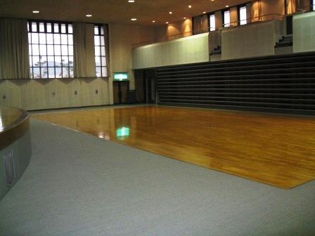 马利礼堂宫田1F礼堂(观众席一侧)